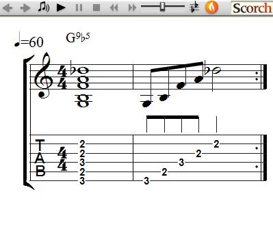 Freemusiclessons4u 9b5 Chords Left Handed