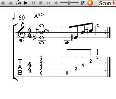 FreeMusicLessons4u.com - 9#5 Chords - Left Handed